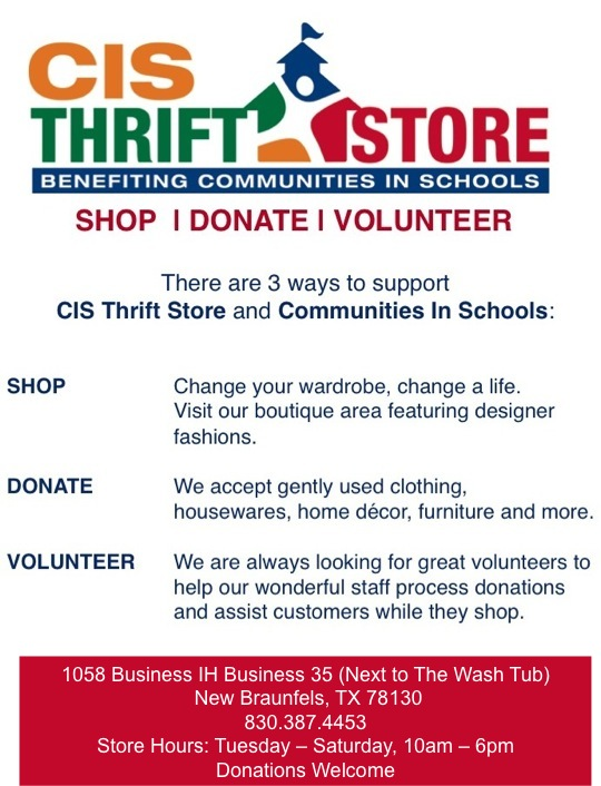 Cis thrift store communities in schools of south central texas cis thrift store reheart Images